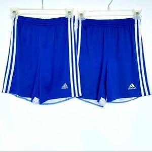 Adidas Set of 2 Shorts Climacool Youth Medium